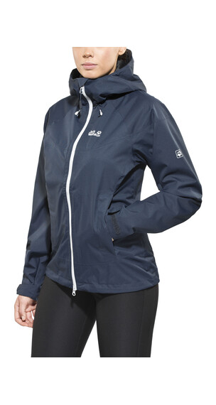 Jack Wolfskin North Ridge Jas Dames blauw